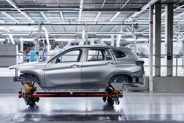 VDL Nedcar starts production BMW X1