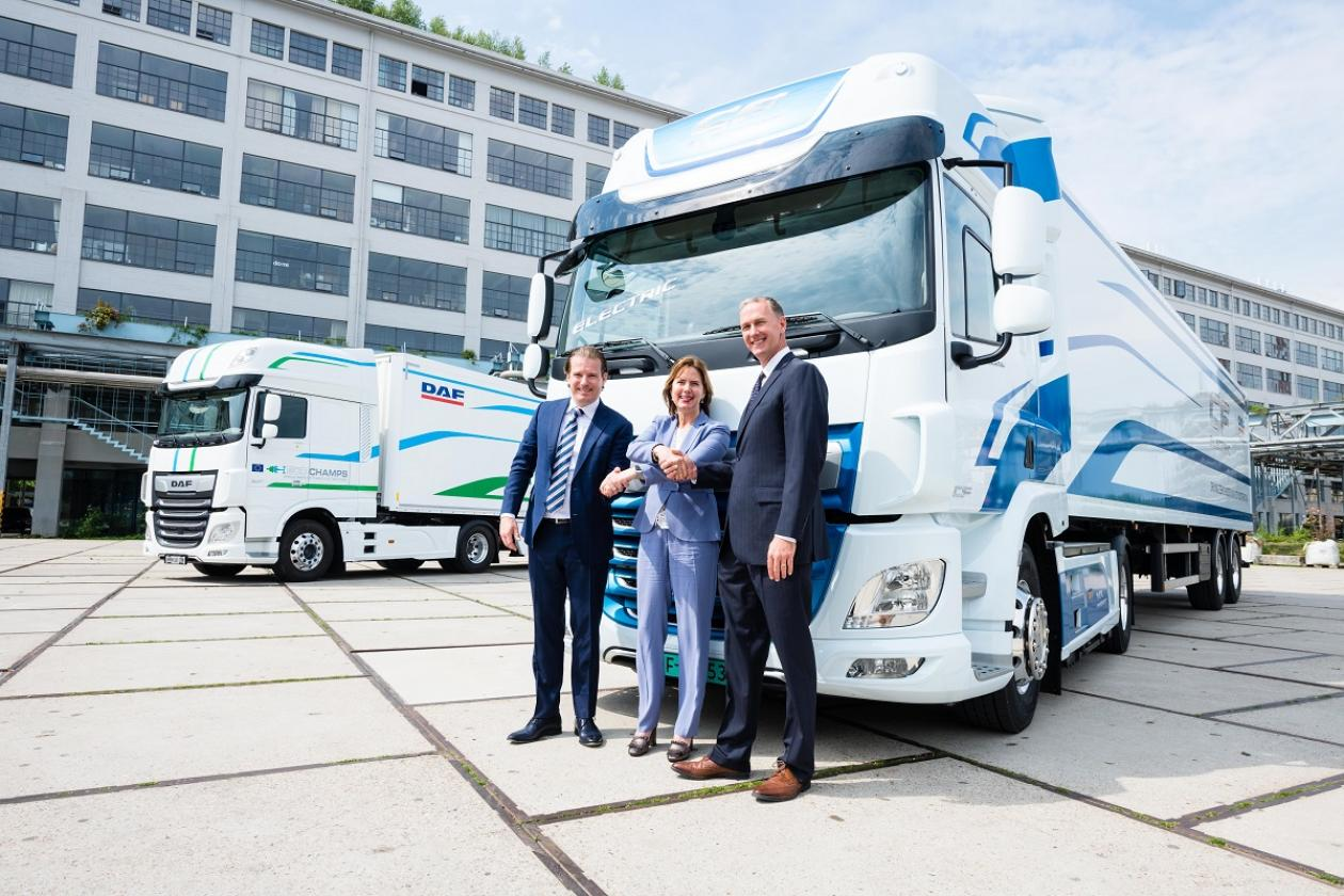 Green Truck Award für DAF CF Electric VDL E-Power