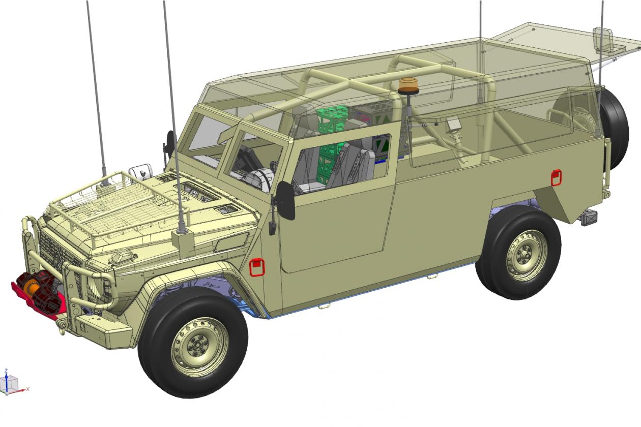 VDL to build Ministry of Defence off-road vehicles for Mercedes-Benz