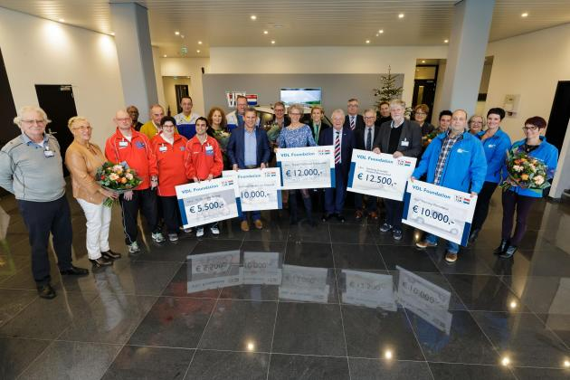 VDL Foundation supports initiatives in the vicinity of VDL Nedcar