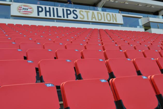 23,000 new stadium seats for PSV